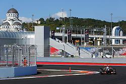 10.10.2014, Sochi Autodrom, Sotschi, RUS, FIA, Formel 1, Grosser Preis von Russland, Training, im Bild Romain Grosjean (FRA) Lotus E22. // during the Practice of the FIA Formula 1 Russia Grand Prix at the Sochi Autodrom in Sotschi, Russia on 2014/10/10. EXPA Pictures © 2014, PhotoCredit: EXPA/ Sutton Images/ Martini<br /> <br /> *****ATTENTION - for AUT, SLO, CRO, SRB, BIH, MAZ only*****