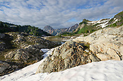 Yellow Aster Butte Basin. Mount Baker Wilderness, North Cascades Washington