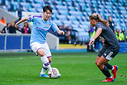 Manchester City Women forward Lee Geum-min (17) during the FA Women's Super League match between Manchester City Women and BIrmingham City Women at the Sport City Academy Stadium, Manchester, United Kingdom on 12 October 2019.