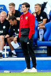 Valencia manager Marcelino - Mandatory by-line: Robbie Stephenson/JMP - 01/08/2018 - FOOTBALL - King Power Stadium - Leicester, England - Leicester City v Valencia - Pre-season friendly