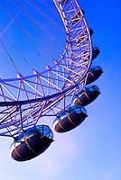 Europa - Londres, UK - The London Eye - foto: Daniel Deák
