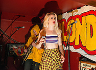 Du Blonde aka Beth Jeans Houghton performs on stage at Broadcast on June 10, 2015 in Glasgow, United Kingdom (Photo by Ross Gilmore