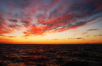 Unbelievable skies and ocean of a Fire Island sunset.
