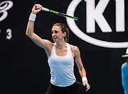 Petra Martic of Croatia in action during her second round match at the 2020 Australian Open, WTA Grand Slam tennis tournament on January 22, 2020 at Melbourne Park in Melbourne, Australia - Photo Rob Prange / Spain ProSportsImages / DPPI / ProSportsImages / DPPI