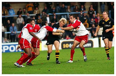 London Wasps v Biarritz Olympique. 24-10-04.Season 2004-2005.