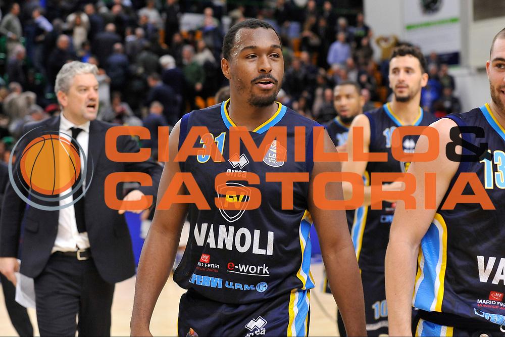 Elston Turner<br /> Banco di Sardegna Dinamo Sassari - Vanoli Cremona<br /> LegaBasket Serie A LBA Poste Mobile 2016/2017<br /> Sassari 26/11/2016<br /> Foto Ciamillo-Castoria