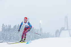 21.02.2016, Salpausselkae Stadion, Lahti, FIN, FIS Weltcup Langlauf, Lahti, Damen Skiathlon, im Bild Daria Vedenina (RUS) // Daria Vedenina of Russian Federation during Ladies Skiathlon FIS Cross Country World Cup, Lahti Ski Games at the Salpausselkae Stadium in Lahti, Finland on 2016/02/21. EXPA Pictures © 2016, PhotoCredit: EXPA/ JFK