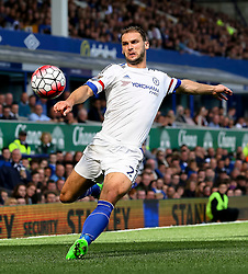 Branislav Ivanovic of Chelsea in action - Mandatory byline: Matt McNulty/JMP - 07966386802 - 12/09/2015 - FOOTBALL - Goodison Park -Everton,England - Everton v Chelsea - Barclays Premier League