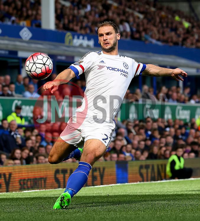 Branislav Ivanovic of Chelsea in action - Mandatory byline: Matt McNulty/JMP - 07966386802 - 12/09/2015 - FOOTBALL - Goodison Park -Everton,England - Everton v Chelsea - Barclays Premier League