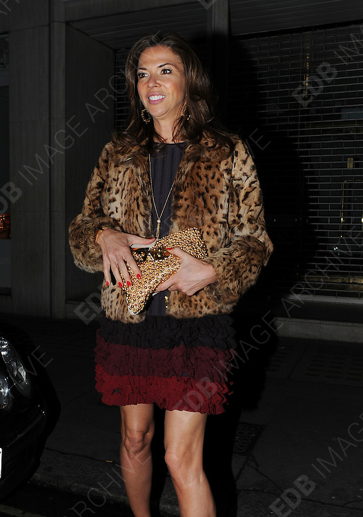 12.APRIL.2012. LONDON<br /> <br /> SARAH FERGUSON AND HEATHER KERZNER LEAVING THE ARTS MEMBERS CLUB IN MAYFAIR, LONDON<br /> <br /> BYLINE: EDBIMAGEARCHIVE.COM<br /> <br /> *THIS IMAGE IS STRICTLY FOR UK NEWSPAPERS AND MAGAZINES ONLY*<br /> *FOR WORLD WIDE SALES AND WEB USE PLEASE CONTACT EDBIMAGEARCHIVE - 0208 954 5968*