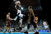 Jaquan Johnson<br /> Cantu Venezia<br /> Basket serie A 2016/2017<br /> Milano 03/10/2016<br /> Foto Ciamillo-Castoria