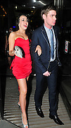 19.FEBRUARY.2011. LONDON<br /> <br /> KEIRON RICHARDSON AND STEPHANIE DAVIS ARRIVING AT THE HILTON IN MANCHESTER FOR THE EMMERDALE BALL<br /> <br /> BYLINE: EDBIMAGEARCHIVE.COM<br /> <br /> *THIS IMAGE IS STRICTLY FOR UK NEWSPAPERS AND MAGAZINES ONLY*<br /> *FOR WORLD WIDE SALES AND WEB USE PLEASE CONTACT EDBIMAGEARCHIVE - 0208 954 5968*