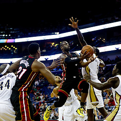 10-23-2015 Miami Heat at New Orleans Pelicans