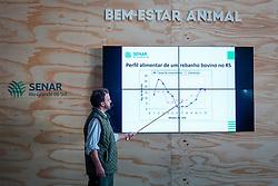 Palestra de Planejamento forrageiro para melhor produtividade e Bem-Estar Animal, ocorrida no estande Ovinos e Bovinos durante a 42ª Expointer, que ocorre entre 24 de agosto e 01 de setembro de 2019 no Parque de Exposições Assis Brasil, em Esteio. FOTO: Joel Vargas / Agência Preview