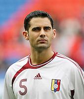 Fussball International Laenderspiel Schweiz - Venezuela Miguel Mea Vitali (VEN)