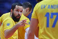 William Arjona of Brazil.<br /> Torino 29-09-2018 Pala Alpitour <br /> FIVB Volleyball Men's World Championship <br /> Pallavolo Campionati del Mondo Uomini <br /> Semifinal<br /> Brasile - Serbia / Brazil - Serbia<br /> Foto Antonietta Baldassarre / Insidefoto
