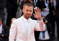 Ryan Gosling at the First Man Premiere, Opening Ceremony and Lifetime Achievement Award To Vanessa Redgrave at the 75th Venice Film Festival, Sala Grande on Wednesday 29th August 2018, Venice Lido, Italy.