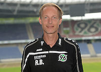 German Soccer Bundesliga 2015/16 - Photocall of Hannover 96 on 13 July 2015 in Hanover, Germany: Physiotherapist Ralf Blume