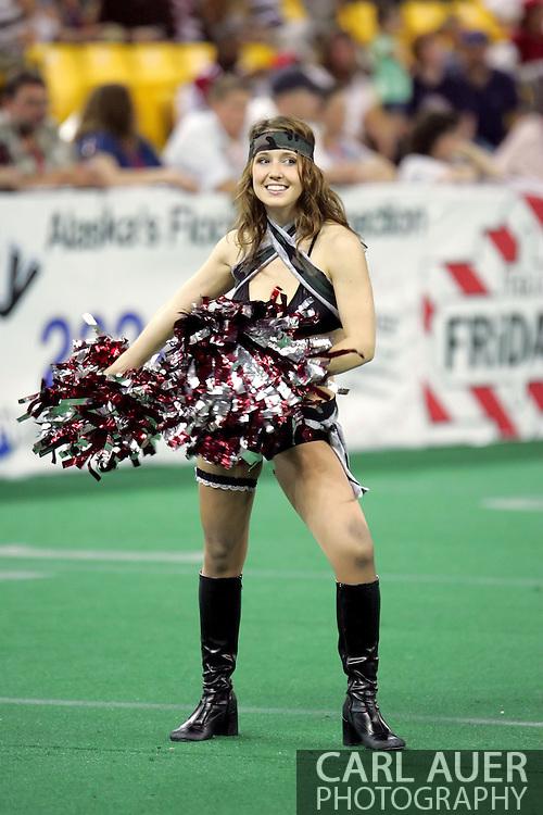 6-28-2007: Anchorage, AK - Alaska Wild cheerleader