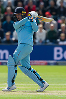 8 June 2019_cricket_CWC 2019_England v Bangladesh<br /> <br /> Jason Roy pulls <br /> in the ICC Cricket World Cup at Cardiff<br /> <br /> pic © winston bynorth