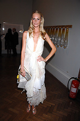 POPPY DELEVIGNE at the Royal Academy of Arts Summer Exhibition Party at the Royal Academy, Piccadilly, London on 6th June 2007.<br />