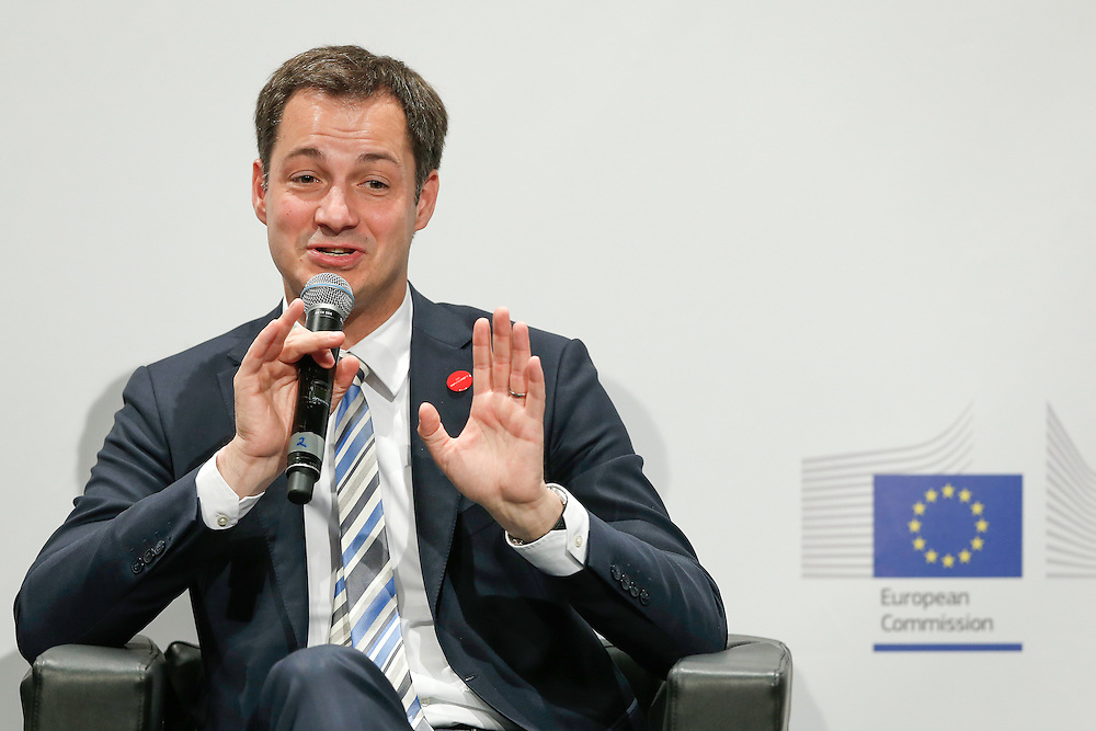 04 June 2015 - Belgium - Brussels - European Development Days - EDD - Education - Right to quality education - Alexander De Croo , Deputy Prime Minister , Minister of Development Cooperation , Digital Agenda , Telecom and Postal Services , Belgium © European Union