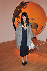 Musician NATASHA KHAN at the TOD'S Art Plus Drama Party at the Whitechapel Gallery, London on 24th March 2011.