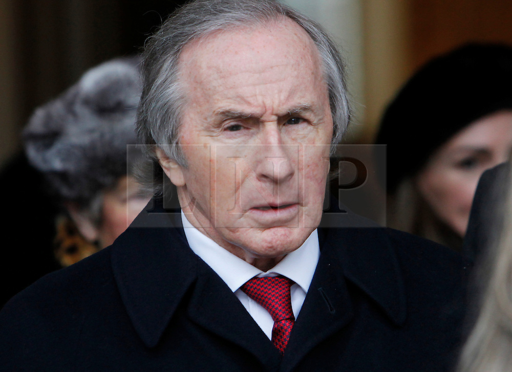 © Licensed to London News Pictures. 18/01/2013. London, U.K..Sir Jackie Stewart at the Memorial service for Professor Sid Watkins, former FIA Formula One medical delegate, and crusader for motor sport safety, midday today (18/1/2013) at St.Marylebone Parish Church..Photo credit : Rich Bowen/LNP