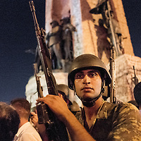 Turkish military took control of Taksim Square