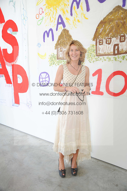 The MARCHIONESS OF BUTE at a charity lunch organised in aid of ASAP (African Solutions to African Problems) held at the Louise T Blouin Foundation, 3 Olaf Street, London W11 on 23rd June 2010.