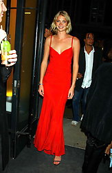 JODIE KIDD at a party to celebrate the first 20 years of fashion label Donna Karan held at her store at 19/20 New Bond Street, London W1 on 21st September 2004.<br /><br />NON EXCLUSIVE - WORLD RIGHTS