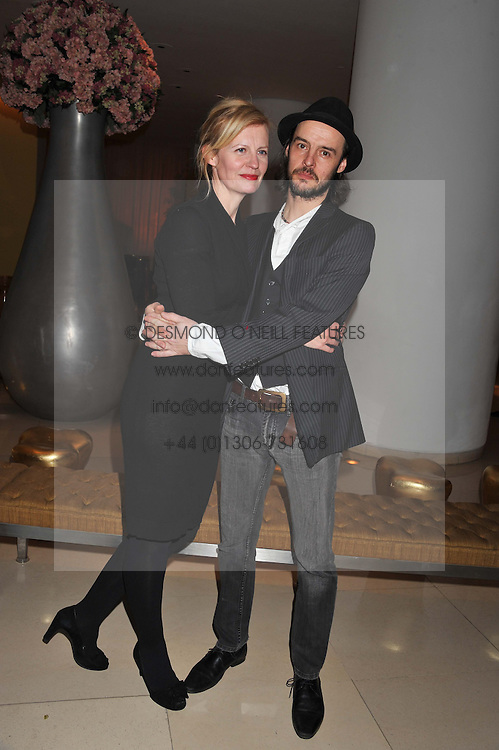 PAUL HILTON and ANASTASIA HILLE at an after show party following the opening night of All New People held at the St.Martin's Lane Hotel, London on 28th February 2012.