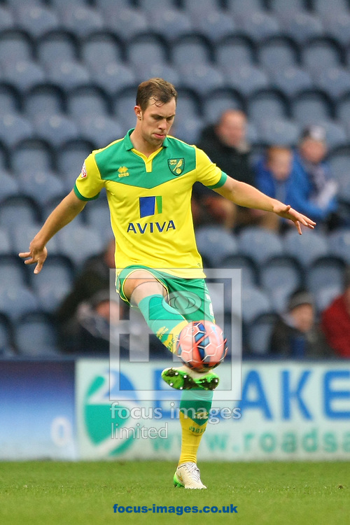 Steven Whittaker of Norwich in action during the FA Cup match at Deepdale, Preston<br /> Picture by Paul Chesterton/Focus Images Ltd +44 7904 640267<br /> 03/01/2015