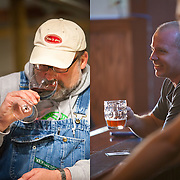 client: both Feast Magazine, Tim Puchta, winemaker (left), Civil Life Brewery owner Jake Hafner (right)