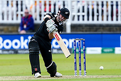 Henry Nicholls of New Zealand batting - Mandatory by-line: Robbie Stephenson/JMP - 14/07/2019 - CRICKET - Lords - London, England - England v New Zealand - ICC Cricket World Cup 2019 - Final