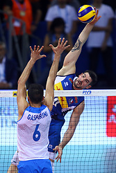 FILIPPO LANZA<br /> <br /> Italy vs Slovenia<br /> Volleyball men's world championship <br /> Florence September 18, 2018