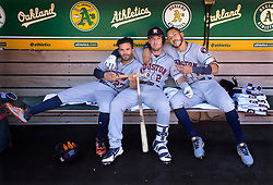 Jose Altuve, Alex Bregman, and Carlos Correa, 2018