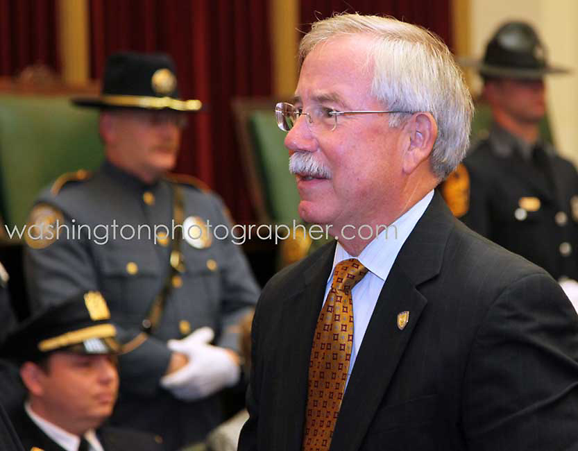 "Washington - Kenneth Melson, acting director of ATF, The US Alcohol, Tobacco and Firearms agency, resigning under pressure after the guns-to-criminals scandal. STOCK PHOTO TO BE PAID WHEN USED AND NOT USED WITHOUT EXPRESS WRITTEN AUTHORIZATION...Copyright 2011 by Marty Katz. All rights reserved. Call  for clearance prior to use. Required adjacent credit: ""DC Photographer Marty Katz"" linked to http://washingtonphotographer.com"