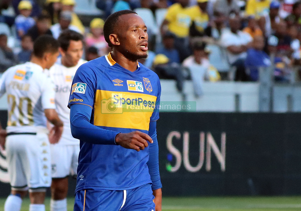 Lehlohonolo Majoro in the MTN8 semi-final first leg match between Cape Town City and Bidvest Wits at the Cape Town Stadium on Sunday 27 August 2017.