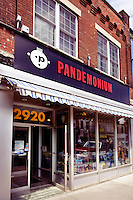Pandemonium record shop at the Junction neighbourhood in Toronto, Canada