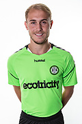 Forest Green Rovers Isaac Pearce during the 2018/19 official team photocall for Forest Green Rovers at the New Lawn, Forest Green, United Kingdom on 30 July 2018. Picture by Shane Healey.