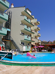 Swimming pool & holiday hotel Marmaris; Turkey