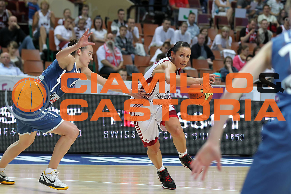 DESCRIZIONE : Katowice Poland Polonia Eurobasket Women 2011 Round 1 Lettonia Francia Latvia France<br /> GIOCATORE : Gunta Basko<br /> SQUADRA : Latvia Lettonia<br /> EVENTO : Eurobasket Women 2011 Campionati Europei Donne 2011<br /> GARA : Lettonia Francia Latvia France<br /> DATA : 19/06/2011<br /> CATEGORIA :<br /> SPORT : Pallacanestro <br /> AUTORE : Agenzia Ciamillo-Castoria/E.Castoria<br /> Galleria : Eurobasket Women 2011<br /> Fotonotizia : Katowice Poland Polonia Eurobasket Women 2011 Round 1 Lettonia Francia Latvia France<br /> Predefinita :