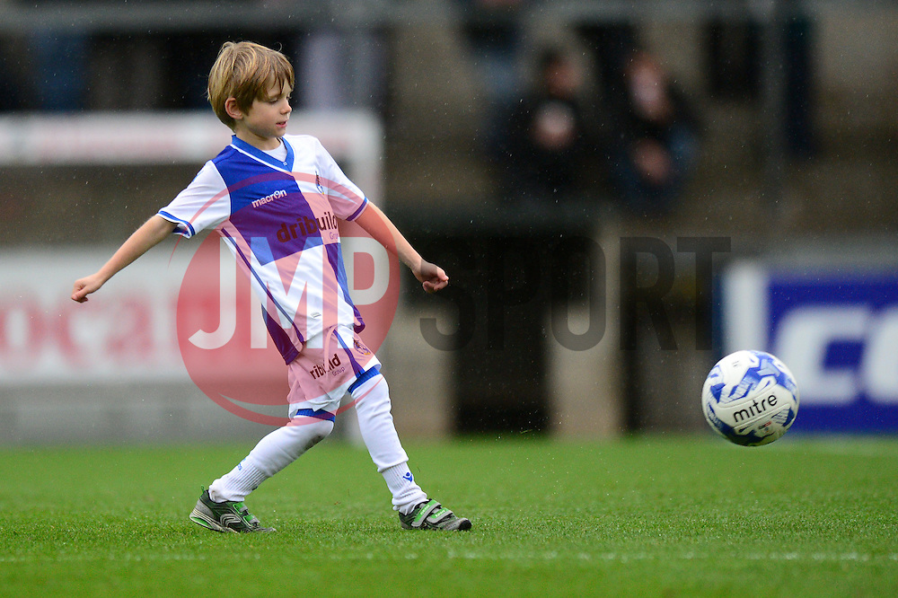 Mascot - Mandatory by-line: Dougie Allward/JMP - 10/12/2016 - FOOTBALL - Memorial Stadium - Bristol, England - Bristol Rovers v Bury - Sky Bet League One