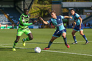 Forest Green Rovers Toni Gomes(25) runs forward during the EFL Sky Bet League 2 match between Wycombe Wanderers and Forest Green Rovers at Adams Park, High Wycombe, England on 2 September 2017. Photo by Shane Healey.
