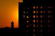 Sunset over Richmond, VA