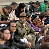 Toluca, México.- El ayuntamiento de Toluca inauguro la Feria de Empleo para Mujeres, Adultos Mayores y Discapacitados en donde se ofrecieron 1200 vacantes. Agencia MVT / Crisanta Espinosa