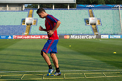 20.08.2013, Sofia, BUL, UEFA CL Play off, FC Basel, Training, im Bild, Fabian Schaer // during the UEFA Champions League Trainings Match of FC Basel in Sofia, Bulgaria on 2013/08/20. EXPA Pictures © 2013, PhotoCredit: EXPA/ Freshfocus/ Andy Mueller<br /> <br /> ***** ATTENTION - for AUT, SLO, CRO, SRB, BIH only *****