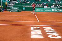 Illustration Monte Carlo - Ramasseur de Balles - 17.04.2015 - Tournoi de Monte Carlo 2015 - Masters 1000 <br />Photo : Serge Haouzi / Icon Sport