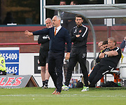 August 9th 2017, Dens Park, Dundee, Scotland; Scottish League Cup Second Round; Dundee versus Dundee United; Dundee United boss Ray McKinnon
